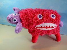 Turn child's art into stuffed animals.