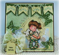 Dances Tilda with stars, Little Christmas Collection, Magnolia stamps