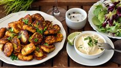 Květákové kroketky » nejen Paleo snadno Low Carb Keto, Low Carb Recipes, Cooking Recipes, Healthy And Unhealthy Food, Lchf, Tandoori Chicken, Chicken Wings, Food And Drink, Gluten Free