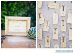 Cute idea for place cards <3