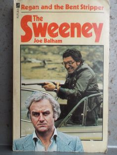 The Sweeney by Joe Balham 1977 Regan and the Bent Stripper Paperback book Futura Thames Television by bastarduk on Etsy The Sweeney, Sweeney Todd, Rhyming Slang, Violent Crime, Feature Film, Paperback Books, Detective, Tv Series