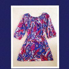 08e8cc1838 MYMICHELLE MULTICOLORED DRESS Beautiful multicolor sheer dress