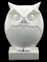 One Day At A Time: thrift store find - an owl statue!