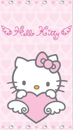 Hello kitty iphone 5 wallpaper. I love it ❤️