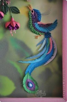 Quilled Bird via stranamasterov.ru