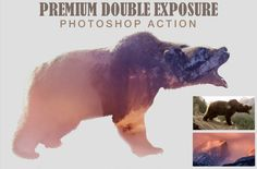 Wow! FREE this week (5 Oct-12 Oct 2015) only! Double Exposure Photoshop Action by Ruslan Zelensky on Creative Market