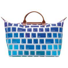 A Longchamp La Pilage bag, of course! This limited edition keyboard design caught the eye of my inner geek.