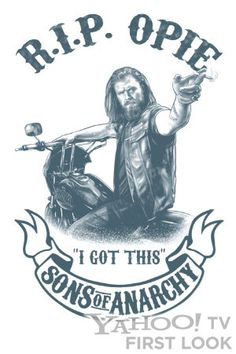 sons anarchy tattoo | ... Comic Con Exclusive: 'Sons of Anarchy' R.I.P. Opie Temp Tattoo