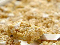 Brown Butter Crispy Treats recipe from Ree Drummond via Food Network (Season 11/Graduation Party)