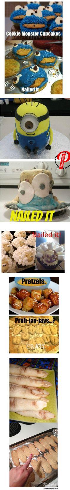 Pinterest recipe FAILs - Bwahahahahahahaha!!!!