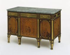 Commode | Roentgen, David | V&A Search the Collections Georgian Furniture, Furniture Styles, Antique Furniture, Painted Furniture, Furniture Design, Maple Stain, Luis Xiv, Marquetry, Museum