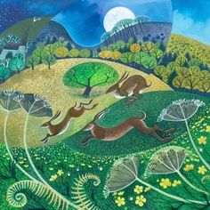 Midnight Hares  by Lisa Graa Jensen