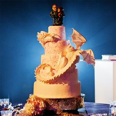 Wedding Cake Wednesday: Fan-tasty DragonEver After Blog | Disney Fairy Tale Weddings and Honeymoon