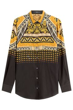 Etro Printed Silk Shirt Gr. IT 40   STYLEBOP saved by #ShoppingIS