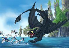 Dragon Dive by sophiecabra.deviantart.com on @deviantART