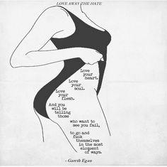 Love yourself #selflove #women #beautiful #body #selfsteem
