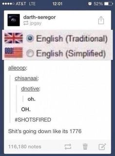 Actually, the American accent is the original British one. British people changed their accents, therefore we are traditional.