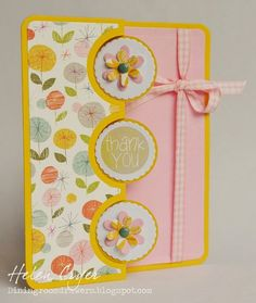 Supplies: Sizzix Framelits Die Set 10PK - Card, Triple Circle Flip-its
