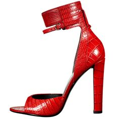 red croco Shoes