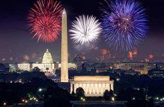 Fireworks over DC.