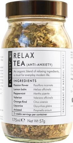 Dr Jackson Herbal Tea - Relax