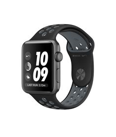 Apple Watch Nike+, 42mm Space Gray Aluminum Case with Black/Cool Gray Nike Sport Band - Apple