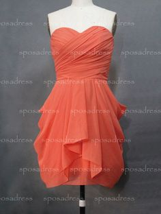 Junior bridesmaid dress orange bridesmaid dress by sposadress nkt this color, but I like the style. Orange Bridesmaid Dresses, Junior Bridesmaid Dresses, Wedding Bridesmaids, Bridesmaid Hair, Girls Dresses, Prom Dresses, Wedding Dresses, Lace Wedding, Chifon Dress