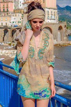Blusa Capri 96, Blusas - Ropa de viaje, ropa de crucero, ropa de vacaciones - Travel Wear Miro