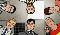 Tuesday's Overlooked Films and/or Other A/V: 5 April (the many obstacles edition) Archer Tv Series, Archer Tv Show, Archer Fx, Archer Season 2, Best Archer Quotes, Archer Characters, Fictional Characters, Archer Funny, Sterling Archer
