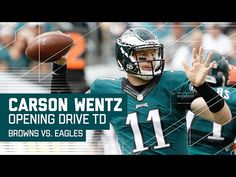 Carson Wentz Leads Impressive Opening Drive TD! | Browns vs Eagles | NFL - YouTube