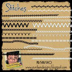 Auntie M Designs: Stitches