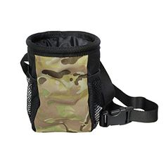 Ondoing Dog Treat Training Pouch Bag with Mesh Adjustable Strap Durable Zippered Pockets for Carries Treats and Toys Poop Bag Dispenser Camouflage *** Find out more about the great product at the image link.