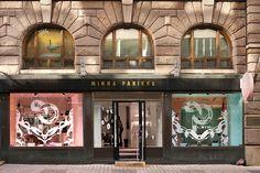Minna Parikka windows by Janine Rewell, Helsinki - Finland