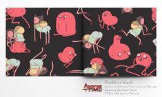 Illustration Friday: Poketo Adventure Time Wallets