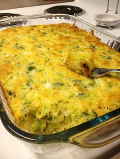 Broccoli Cornbread. Yummy side dish/ bread. another recipe calls for 2 cups cottage cheese instead of 1-1/2 cups.