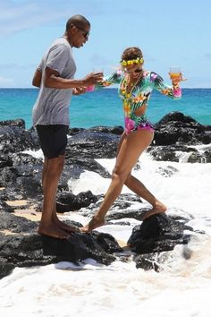 Beyoncé & Jay Hawaii June 2016