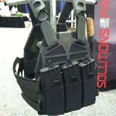 Plate carrier. Via Tactical Distributers