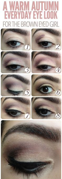 20 Easy Fall Make Up Tutorials For Beginners Learners #prom