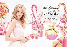 Frida Gustavsson  For  Les Delices De Nina By Nina Ricci Perfume And Fragrance Fashion Campaign.