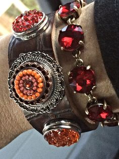 Gorgeous Snap Jewelry at Stuffology!!!