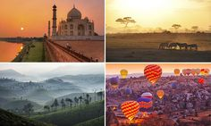 Witnessing India's Taj Mahal at sunrise is the only time at which you'll beat the crowds, while dawn offers by the far the best conditions to watch wildlife on safari in Africa.