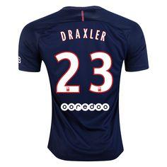 0502fa8cb64e Nike Julian Draxler Paris Saint-Germain Home Jersey 16 17