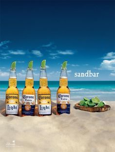 Blame it on years living in Florida. Corona is available most places and tastes mighty fine with a lime.