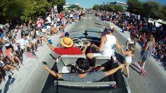Celebrating the 4th of July in Seaside, FL. via the LA Times