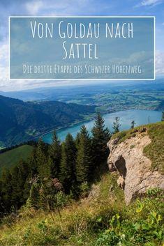 Von Goldau nach Sattel bin ich auf einer abwechslungsreichen Wanderung auf der dritten Etappe des Schwyzer Höhenweg unterwegs. Der Bus, Hiking, Flims, Road Trip Destinations, Beautiful Places, Walks, Trekking, Hill Walking