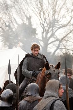 """Joe Armstrong as Hotspur in The Hollow Crown.  """"The most famous Percy, Harry Hotspur, immortalised by William Shakespeare, was so named because of his impulsive nature.  Sir Henry Percy was a knight of great fame.  Had he lived now there is no doubt that he would of been high up in the celebrity charts.  He was one of the last of the knights who lived by the unwritten laws of chivalry.""""  fm borderreivers.co.uk  (Percy = Powerful Border Family)"""