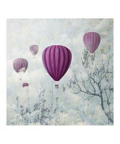 Another great find on #zulily! Balloon Ride Canvas #zulilyfinds