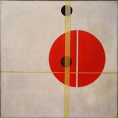 "László Moholy-Nagy - Q 1 Suprematistic, 1923  ""In 1922 the First Russian Art…"