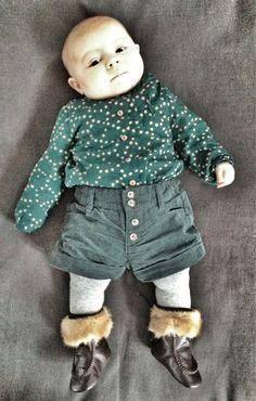 Shirt Zara, Pants Zara, Tights Zara, Socks H, Shoes Baby Dior