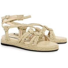 a61a6368aaf These espadrilla sandals from will be your warm-weather favorite. Done in a  finely-crafted braided raffia with flat design for long-lasting comfort.